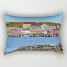 village on Fogo Island,NL Rectangular Pillow