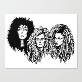 Eastwick  Witches Canvas Print