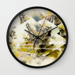 Nightowl geom Wall Clock