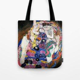 Gustav Klimt Die Jungfrauen The Maiden Tote Bag
