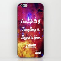inspiration iPhone & iPod Skins featuring Rumi by 2sweet4words Designs