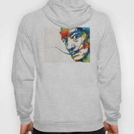 Colorful Dali Art by Sharon Cummings Hoody