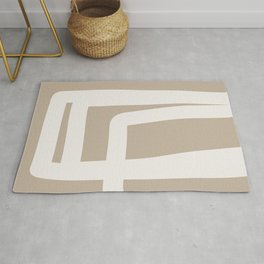 Neutral Abstract 5A Rug