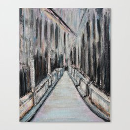 Paris Noir Canvas Print