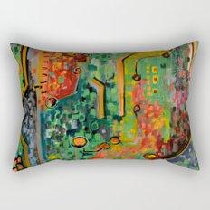 Interconnectedness Rectangular Pillow