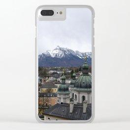 Salzburg, Austria Clear iPhone Case