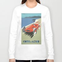 car Long Sleeve T-shirts featuring CAR by Kathead Tarot/David Rivera