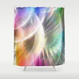 Multicolored abstract no. 60 Shower Curtain