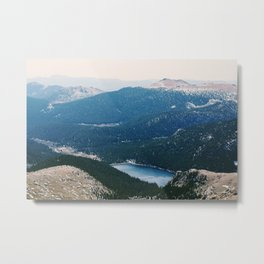 Colorado Rocky Mountains Metal Print