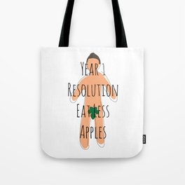 Year 1 Resolution Tote Bag