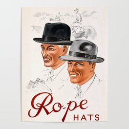 Rope Hats Poster