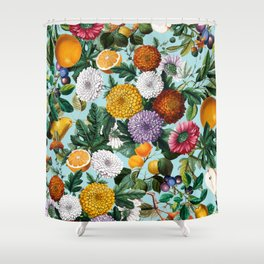 Summer Fruit Garden Shower Curtain