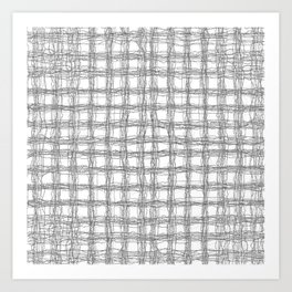 woven cables Art Print