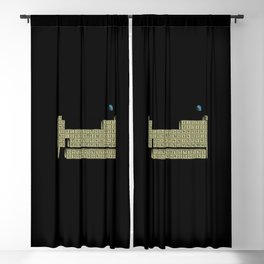 table of elements Blackout Curtain