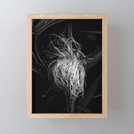 Corn Silk in B&W Framed Mini Art Print