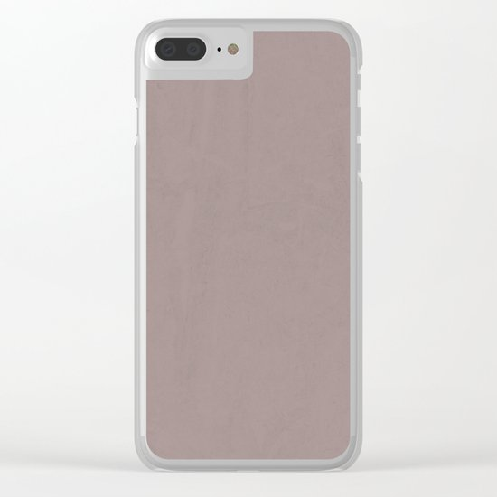 Simply Red Earth Clear iPhone Case