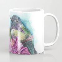 hibiscus Mugs featuring Hibiscus by Maria Trillidou