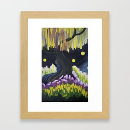 Lights in a Dream Framed Art Print