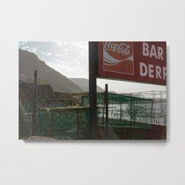 Bar Derp Metal Print