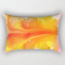 Blurred City Rectangular Pillow