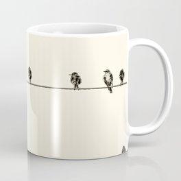 Birds on the Wire. Coffee Mug