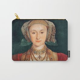"Hans Holbein the Younger ""Anne of Cleves (1515-1557), fourth wife of King Henry VIII"" Carry-All Pouch"