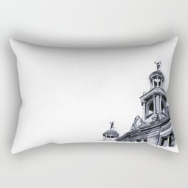 Barcelona Architecture Watercolour Rectangular Pillow