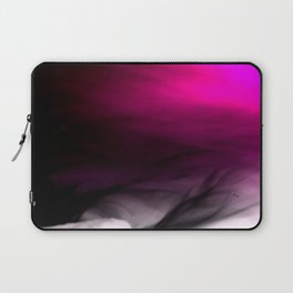 Pink Flames Pink to Black Gradient Laptop Sleeve