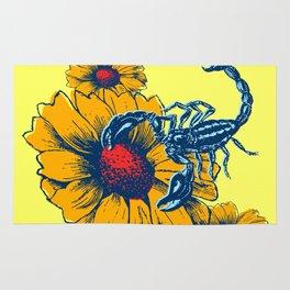 Scorpion Flowers Rug