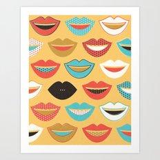 Schtum Art Print