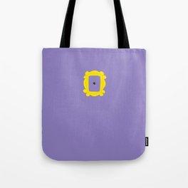 Friends Peephole Frame Tote Bag