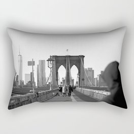 Brooklyn Bridge Rectangular Pillow