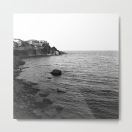 Sea of black Metal Print