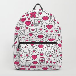 Deep In Love With A Pattern Backpack