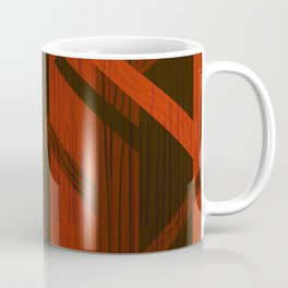 Retro Fall Woods by Friztin Coffee Mug