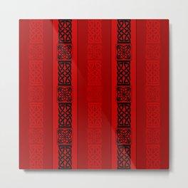 Viking red II Metal Print