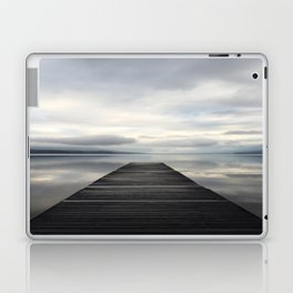 Lake McDonald Dock Laptop & iPad Skin