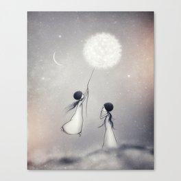 Roses Daydream Canvas Print