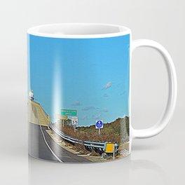 Leaving Sunset Beach Coffee Mug