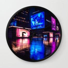 Seoul 2049 Wall Clock
