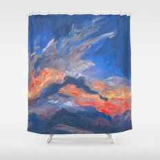 Cloudscape 2 Shower Curtain