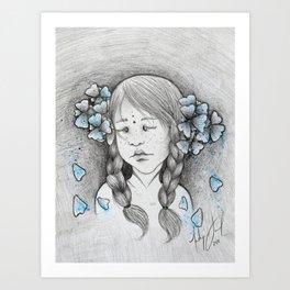 Mora Art Print