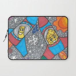 Mac & Cheese in space Laptop Sleeve