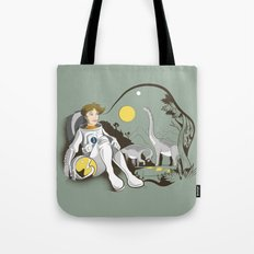 The Time Traveler Tote Bag