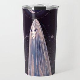 Tarot card: The moon Travel Mug