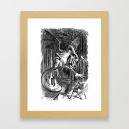 The Jabberwocky Framed Art Print
