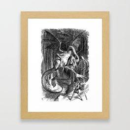The Jabberwocky Framed Art Print