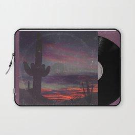 Darkness In The Desert - America As Vintage Album Art Laptop Sleeve