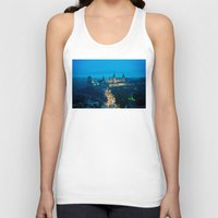 ukraine Tank Tops featuring Kamianets-Podilskyi Castle (Ukraine) by Limitless Design