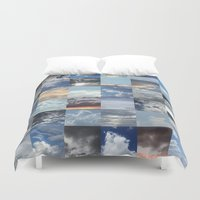 skyline Duvet Covers featuring Skyline by Jyenormus.com
